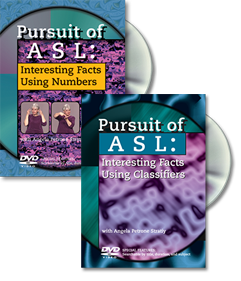 Pursuit of ASL: Save $10 when you buy both DVDs