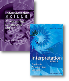 Save $10 on both, English to ASL and ASL to English
